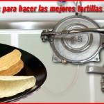 Maquina hecha de aluminio para hacer tortillas